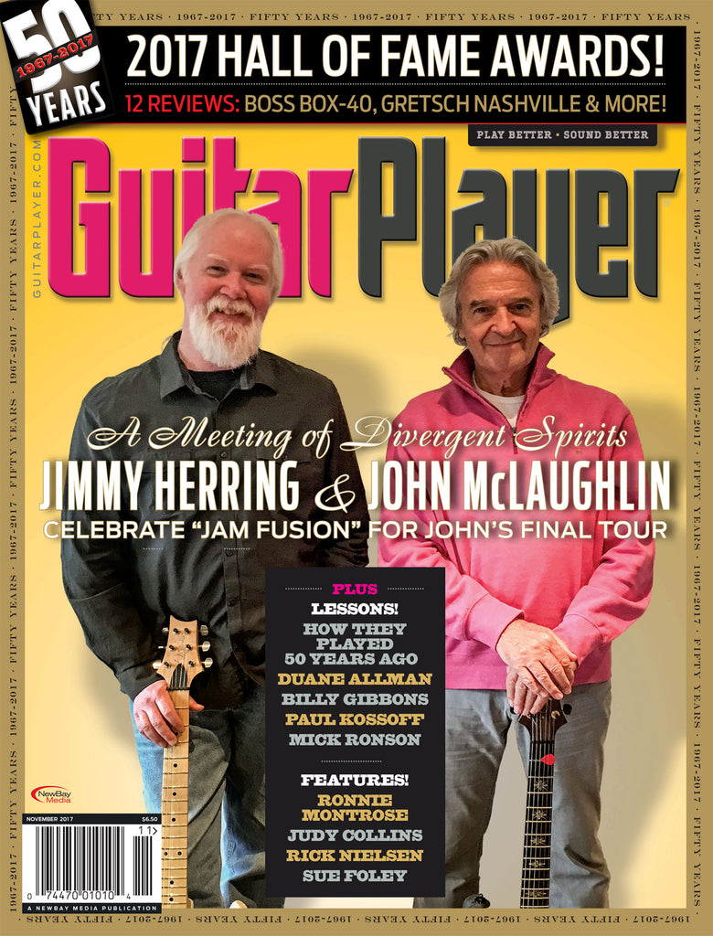Guitar Player - November 2017 – Jimmy Herring & John McLaughlin