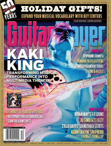 Guitar Player - December 2017 – Kaki King