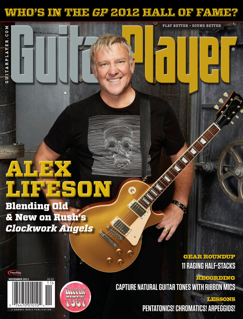 GuitarPlayer - November - 2012 - Alex Lifeson