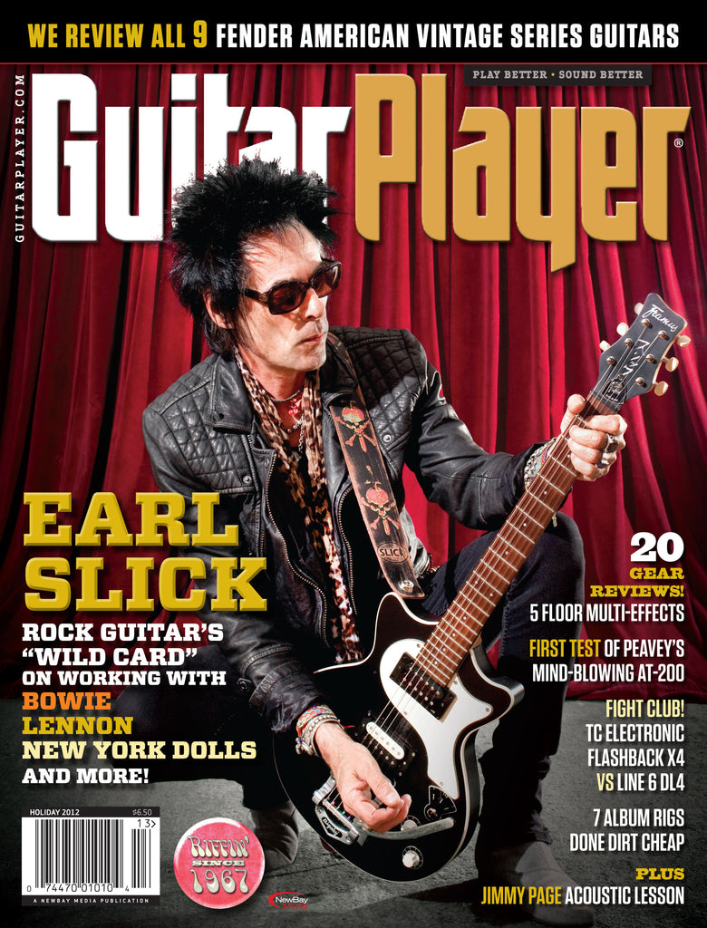 GuitarPlayer - Holiday - 2012 - Earl Slick
