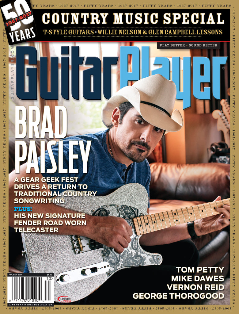 Guitar Player - Holiday 2017 – Brad Paisley - NewBay Media Online Store