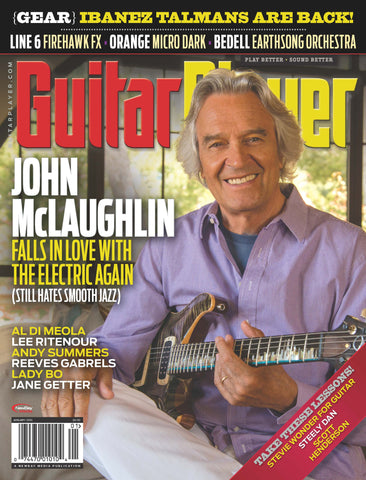 Guitar Player - January 2016 - John McLaughlin - NewBay Media Online Store