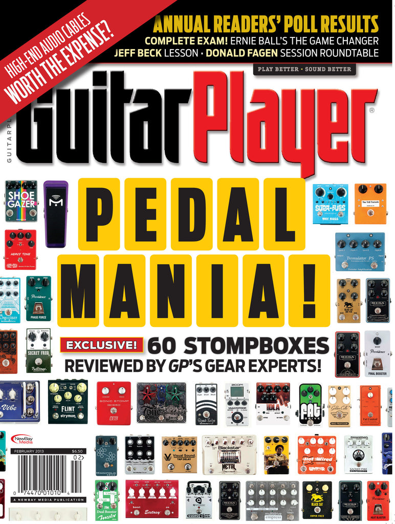 Guitar Player - February 2013 - Pedal Mania