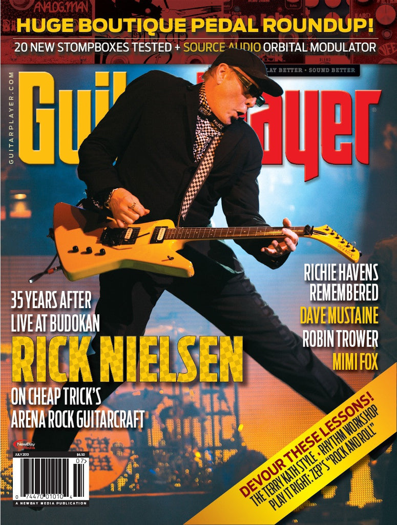 Guitar Player - July 2013 - Rick Nielsen