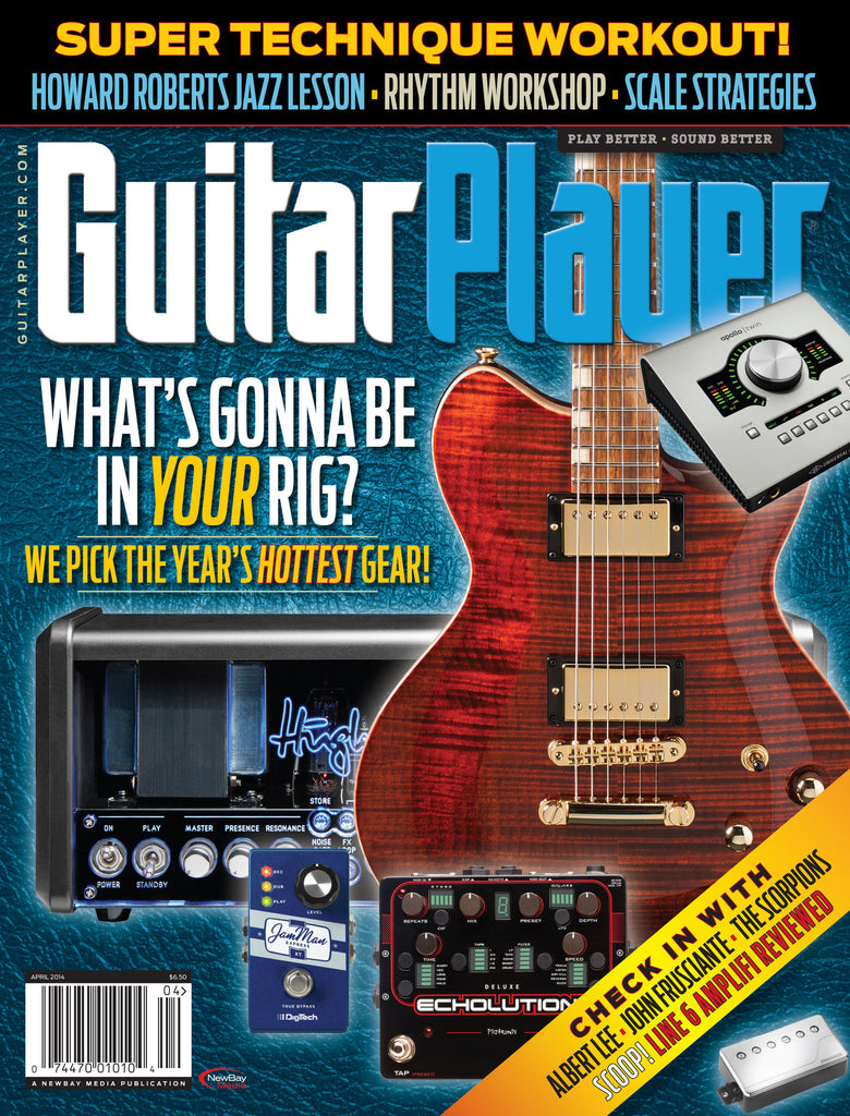 Guitar Player - April 2014 - NAMM Gear 2014