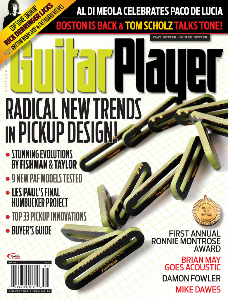 Guitar Player - May 2014 - New Trends in Pickup Design