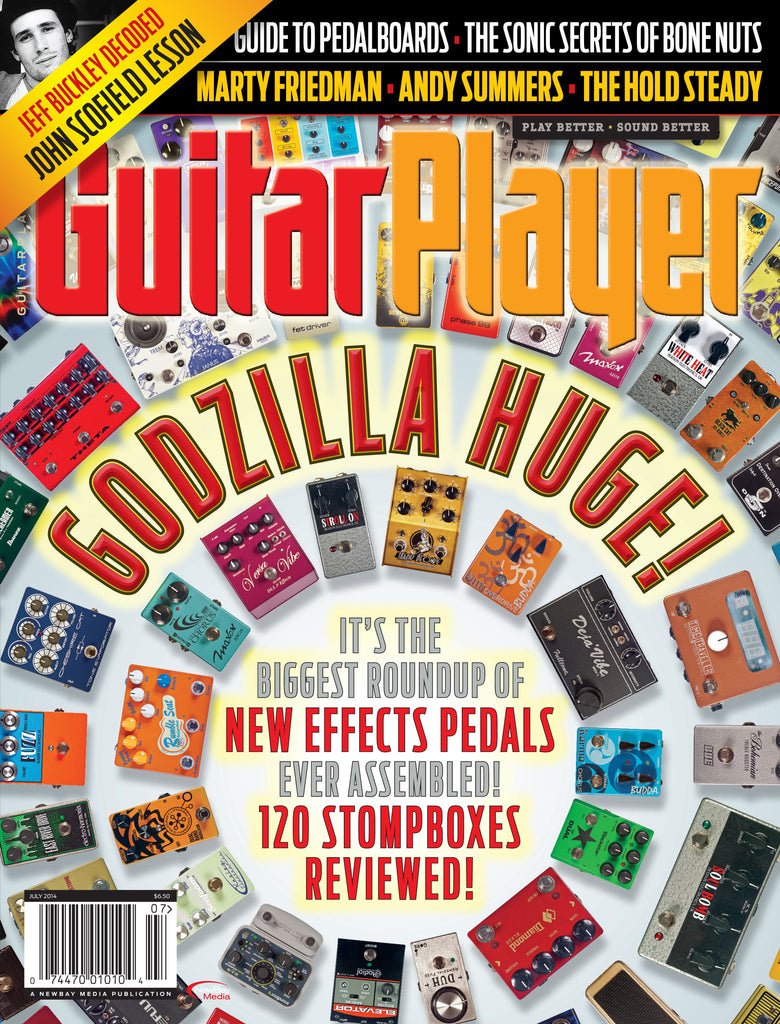 Guitar Player - July 2014 - Pedal Roundup