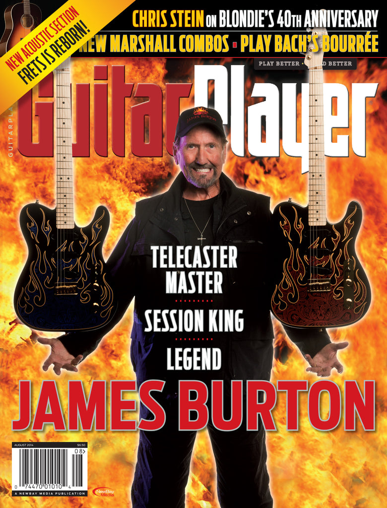 Guitar Player - August 2014 - James Burton - NewBay Media Online Store