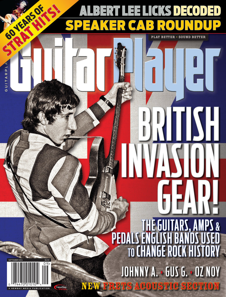 Guitar Player - September 2014 - British Invasion Gear