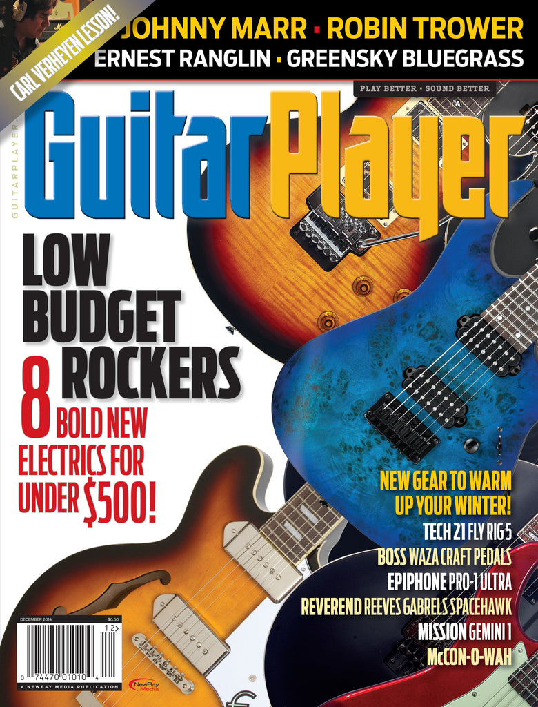 Guitar Player - December 2014 - Low Budget Electrics