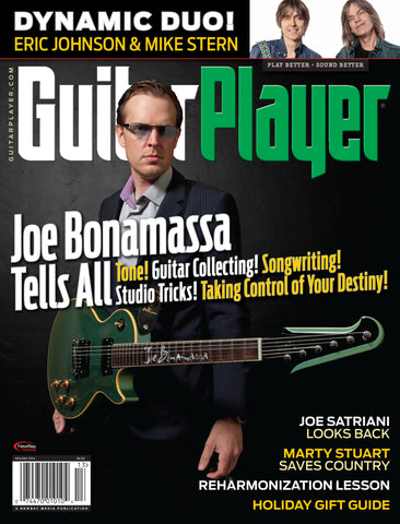 Guitar Player -  Holiday 2014 - Joe Bonamassa - NewBay Media Online Store
