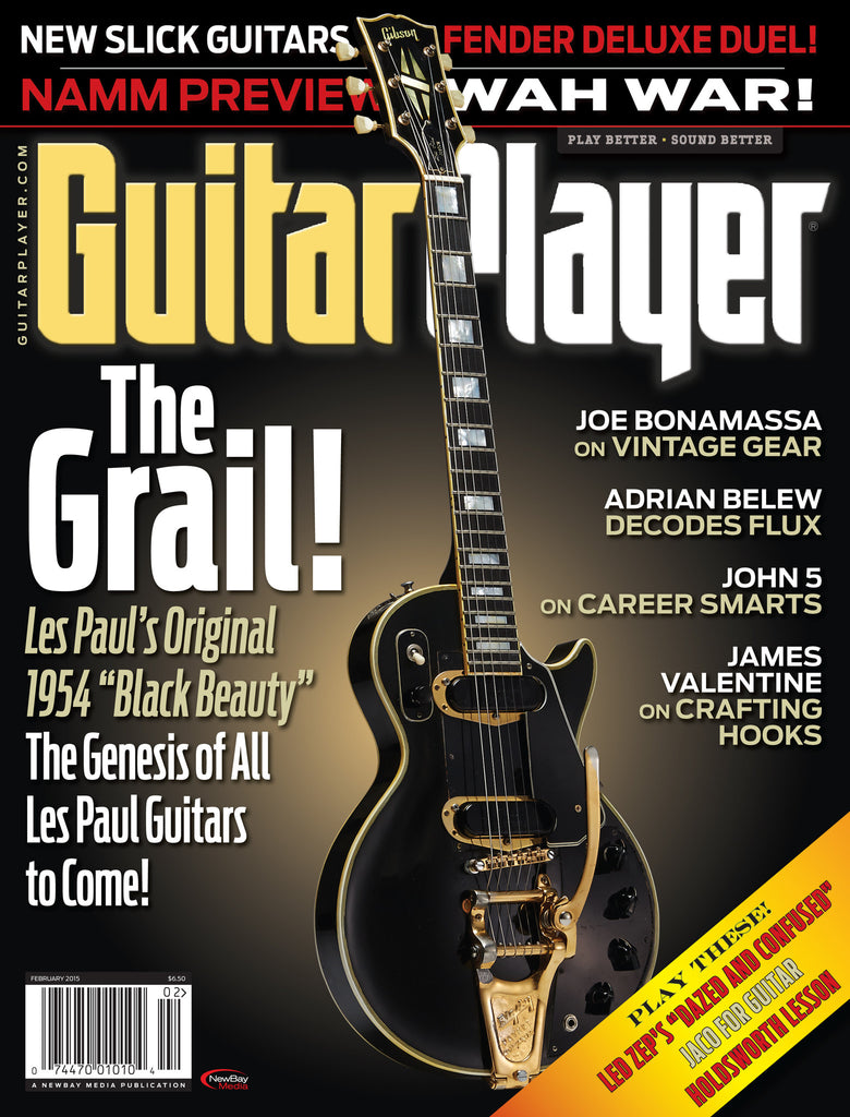 Guitar Player -  February 2015 - The Grail!