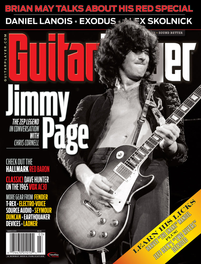 Guitar Player -  March 2015 - Jimmy Page