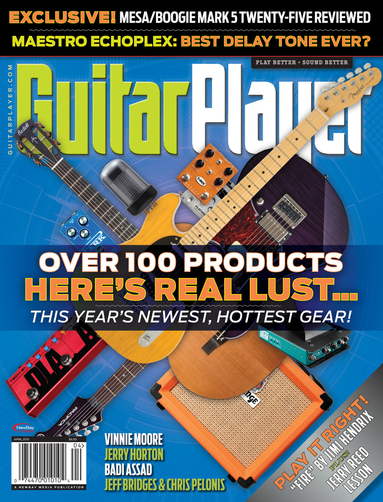 Guitar Player -  April 2015 - New Gear from NAMM