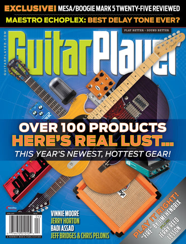 Guitar Player -  April 2015 - New Gear from NAMM - NewBay Media Online Store