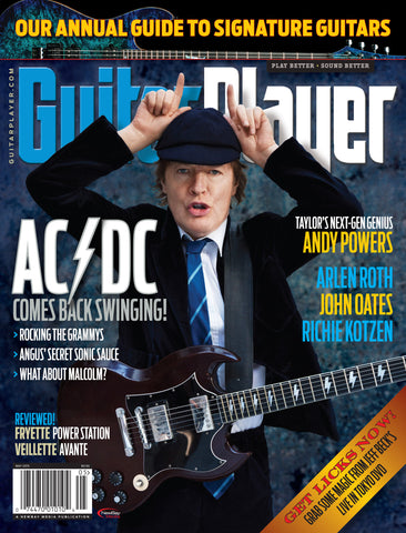 Guitar Player -  May 2015 - AC/DC