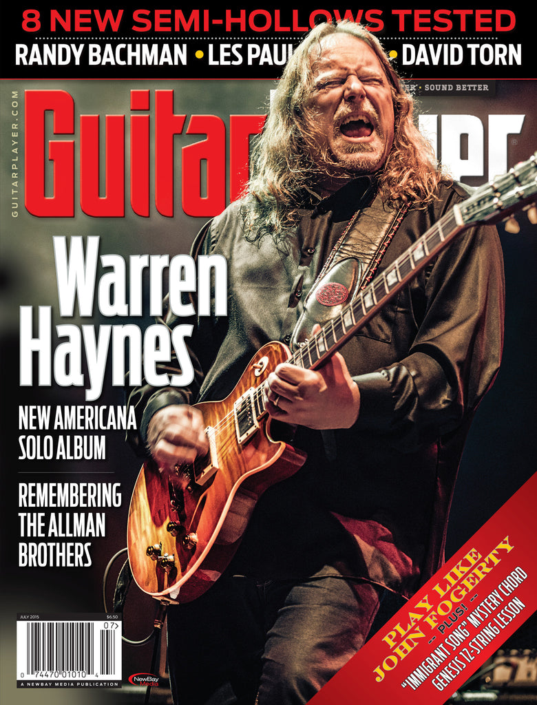 Guitar Player -  July 2015 - Warren Haynes