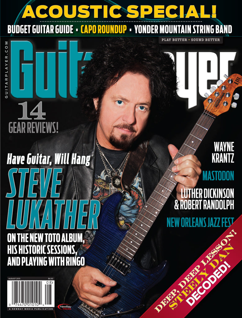Guitar Player -  August 2015 - Steve Lukather