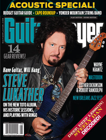 Guitar Player -  August 2015 - Steve Lukather - NewBay Media Online Store