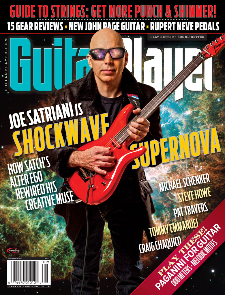 Guitar Player - September 2015 - Joe Satriani - NewBay Media Online Store