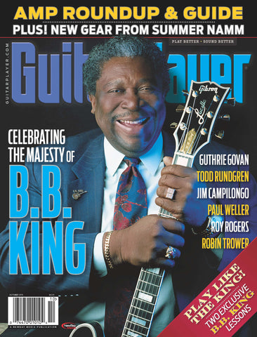 Guitar Player - October 2015 - B.B. King - NewBay Media Online Store