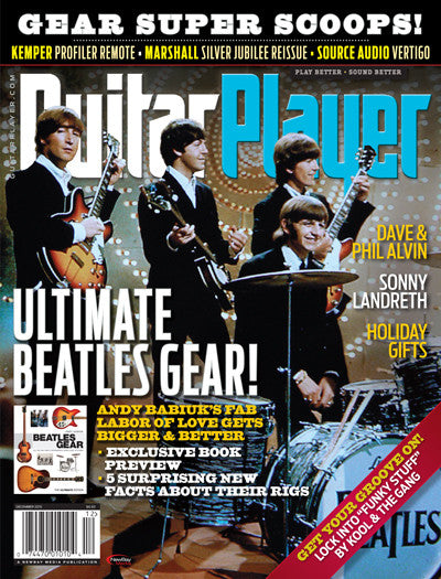 Guitar Player - December 2015 - Ultimate Beatles Gear!