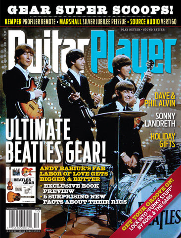Guitar Player - December 2015 - Ultimate Beatles Gear! - NewBay Media Online Store
