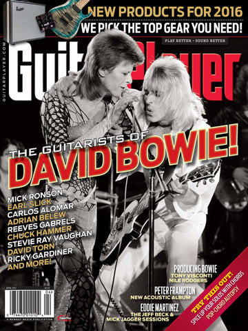 Guitar Player - April 2016 - Guitarists of David Bowie
