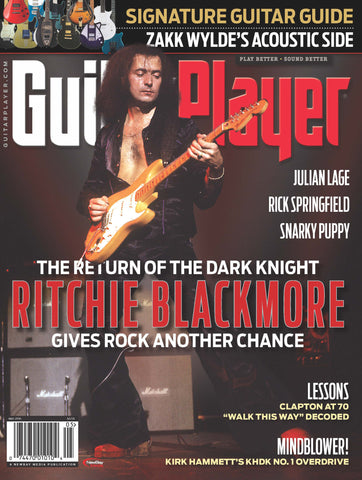 Guitar Player - May 2016 - Ritchie Blackmore