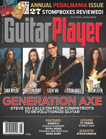 Guitar Player - June 2016 - Generation Axe - NewBay Media Online Store