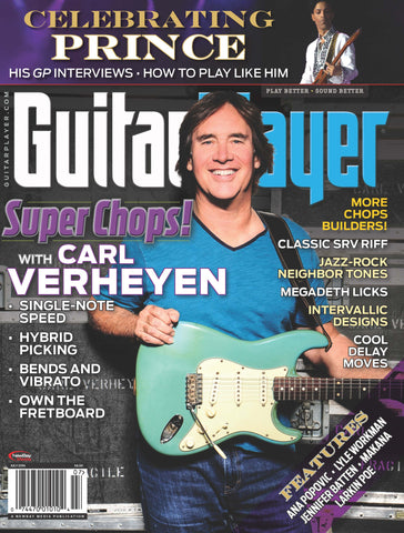 Guitar Player - July 2016 - Carl Verheyen - NewBay Media Online Store