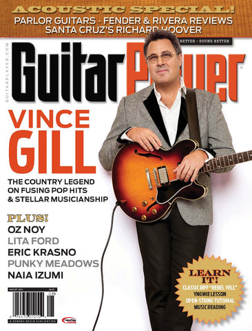 Guitar Player - August 2016 - Vince Gill