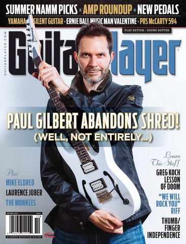 Guitar Player - October 2016 - Paul Gilbert