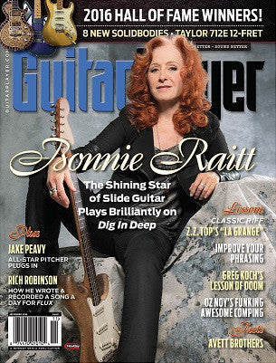 Guitar Player - November 2016 - Bonnie Raitt