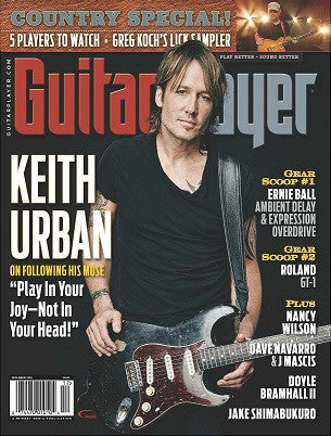 Guitar Player - December 2016 - Keith Urban - NewBay Media Online Store