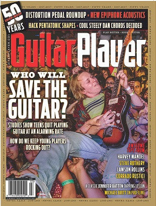 Guitar Player - March 2017 – Who Will Save the Guitar?