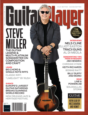 Guitar Player - August 2018 - Steve Miller