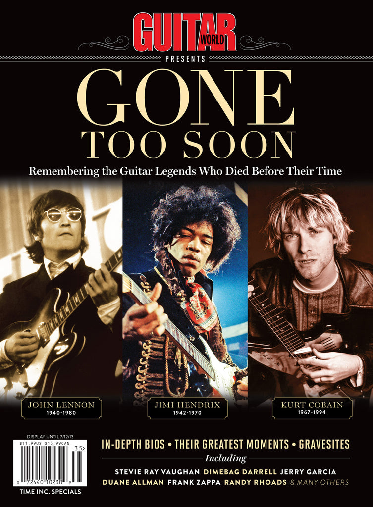 Guitar Legends - Gone Too Soon