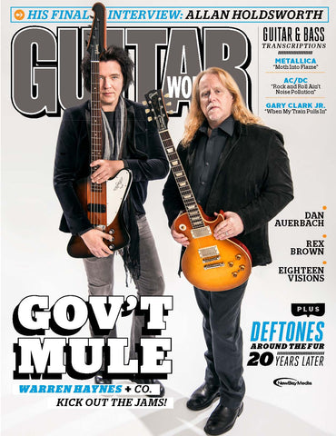 Guitar World - July 2017 - Gov't Mule - NewBay Media Online Store