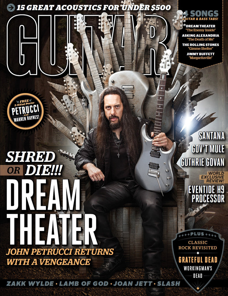 Guitar World - November-13 - Dream Theater