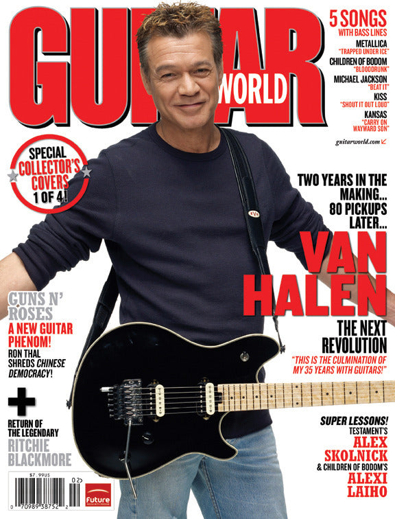 Guitar World Magazine - February 2009 - Eddie Van Halen Cover Version 4