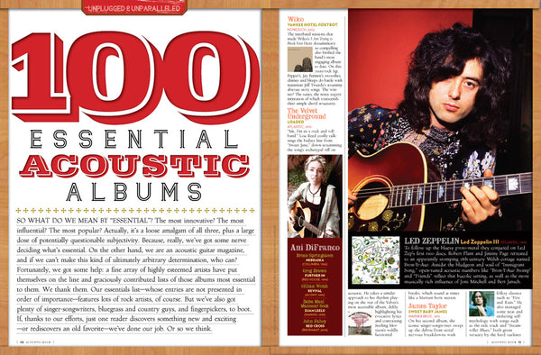 Acoustic Rock Magazine - 2008 - NewBay Media Online Store