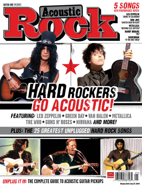 Acoustic Rock Magazine - Hard Rockers Go Acoustic! - NewBay Media Online Store