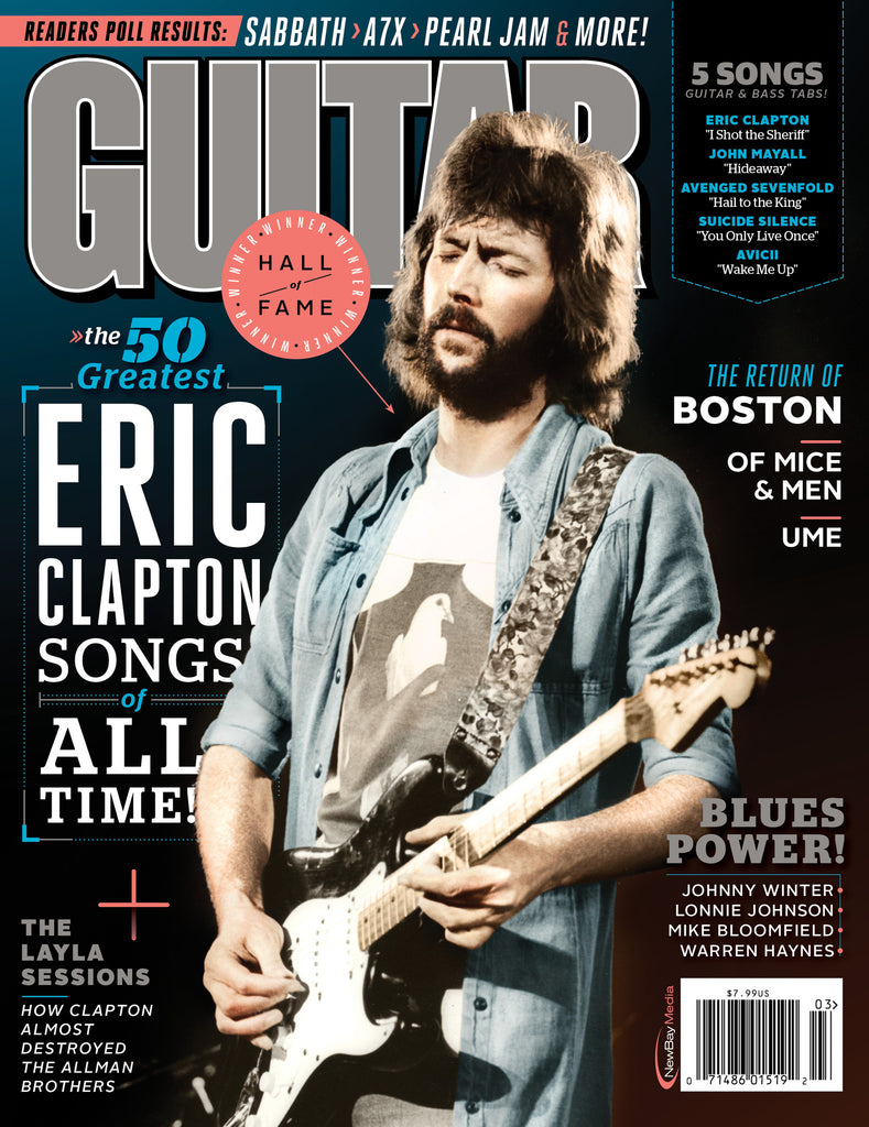 Guitar World - March-14 - Eric Clapton