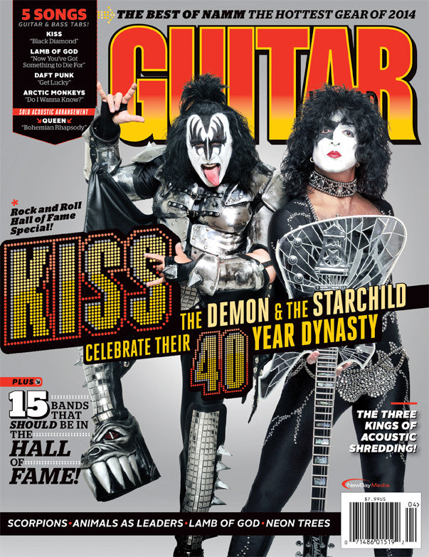 Guitar World - April-14 - Kiss