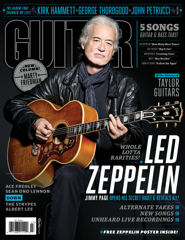 Guitar World - July-14 - Led Zeppelin