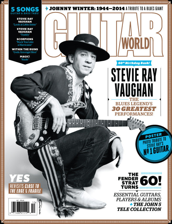 Guitar World - October 14 - Stevie Ray Vaughan