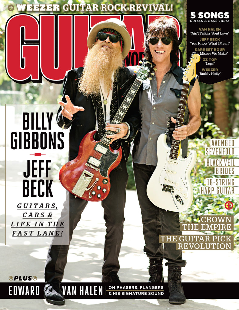Guitar World - November 14 - Billy Gibbons and Jeff Beck
