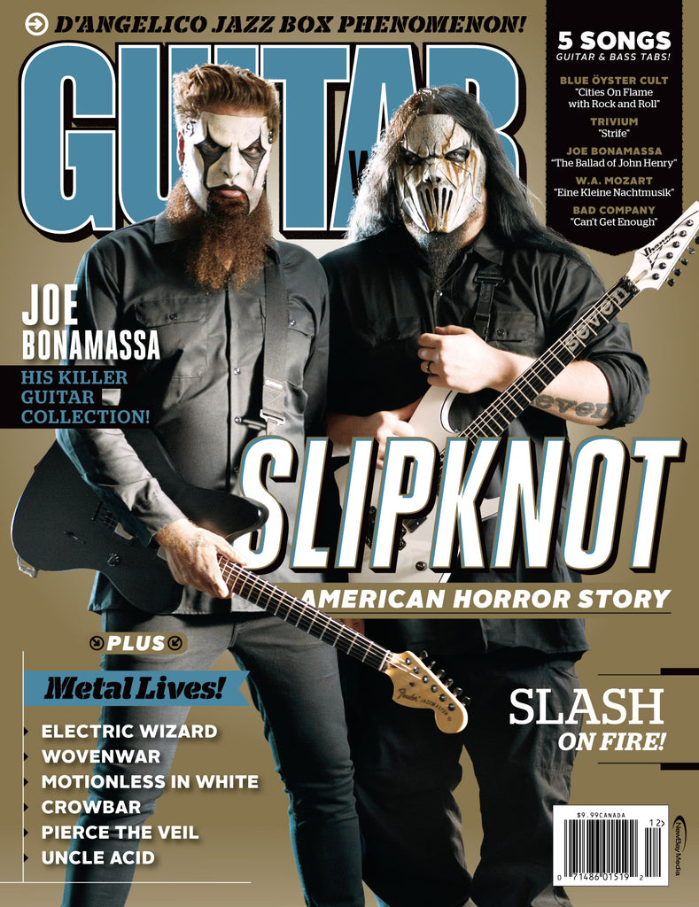 Guitar World - December 14 - Slipknot