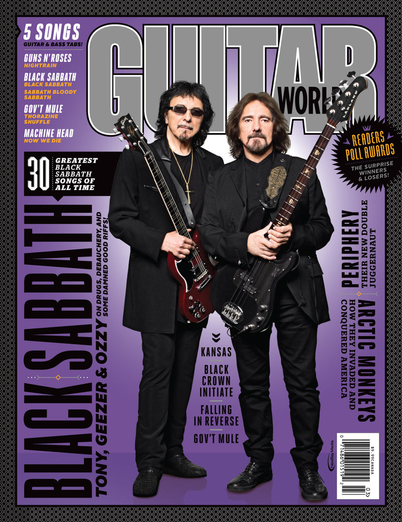 Guitar World - March 15 - Black Sabbath